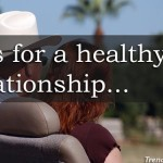 Vital Healthy Relationship Advice (s) for you !