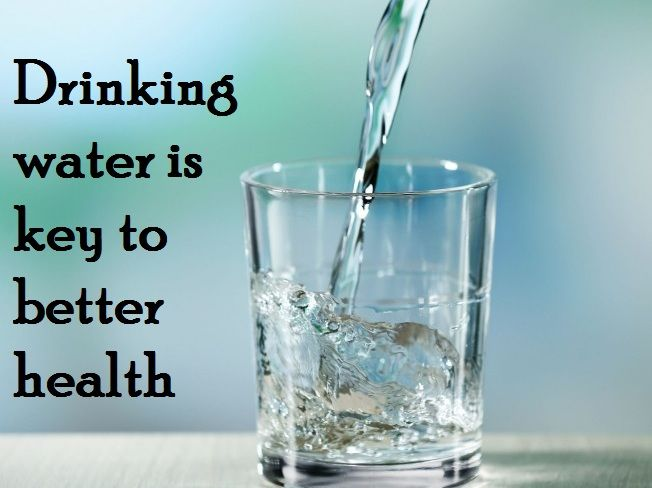 Drinking Lots Of Water Good For You