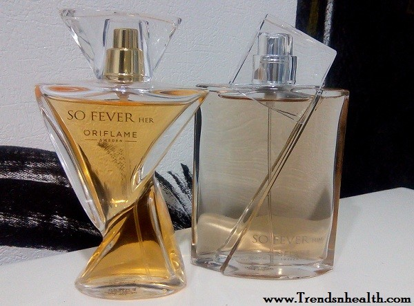 oriflame so fever him her perfume