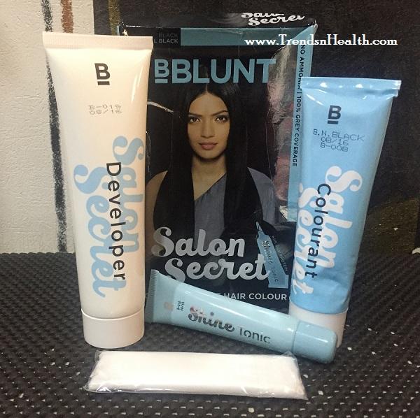 Bblunt salon secret hair colour review natural black for B blunt salon secret hair colour price