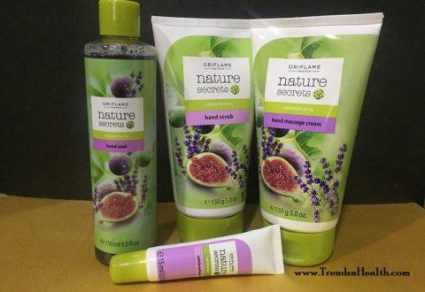 Oriflame Nature Secrets Manicure Set Review