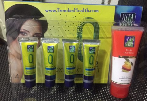 Asta Berry Oxy Facial Kit Review