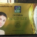 Astaberry 24 Carat Gold Facial Kit Review