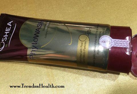 Oshea Herbals Phytowash Luxury Facewash Review