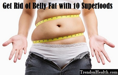 bun belly fat with 10 superfoods