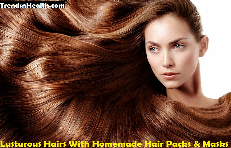 Healthy-Hair with hair masks and packs