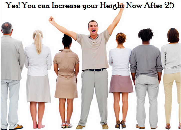how to increase height after 25 naturally