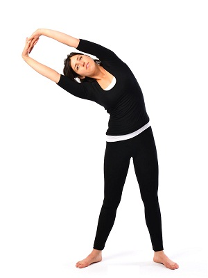 Tadasana (Palm Tree pose) to increase height