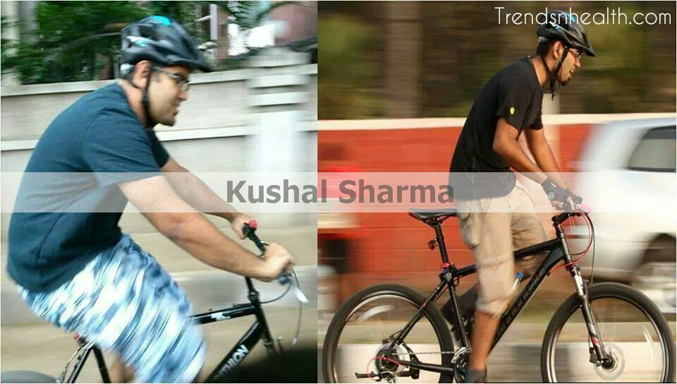 kushal Sharma successful weight loss story