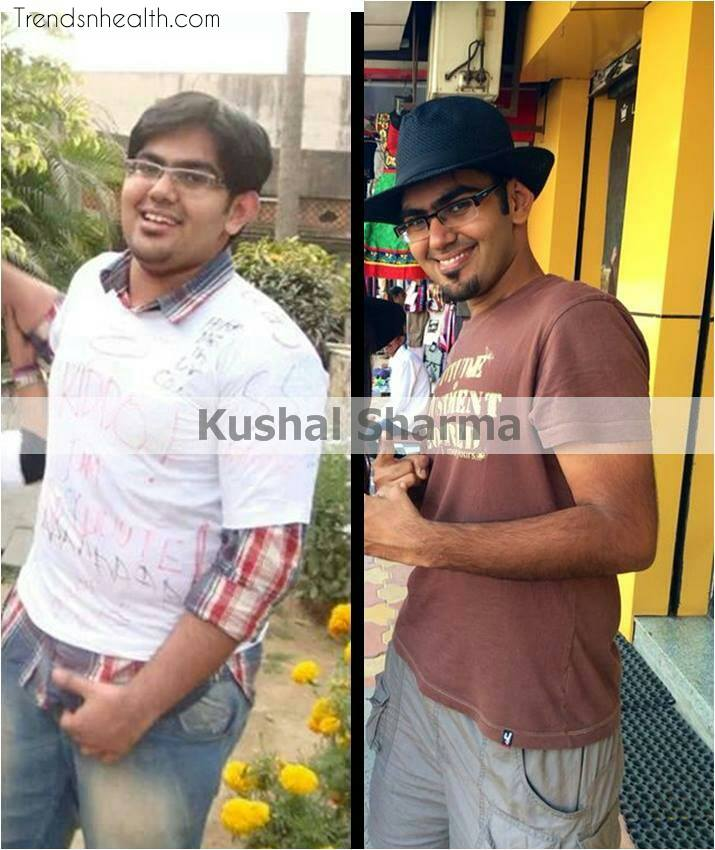 kushal Sharma weight loss