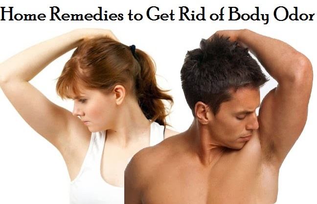 Home remedies to get rod of bad odor