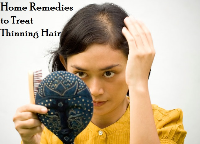 Natural Home Remedies for Thinning Hair Treatment in Women ...