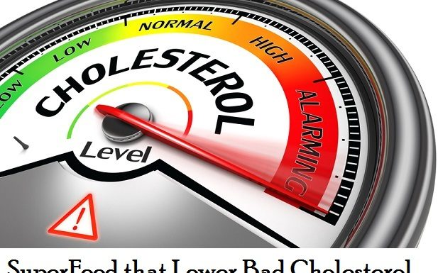 lower high cholesterol with super foods