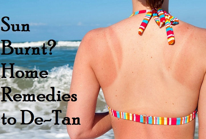 HOme remedies to de-tan skin