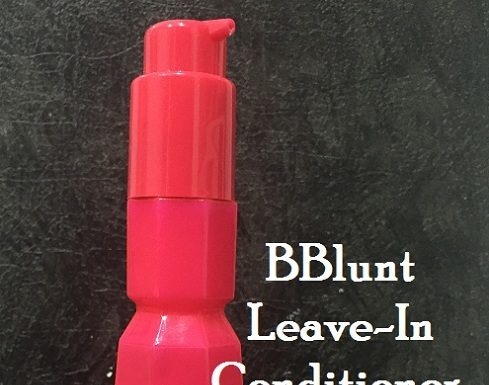 bblunt leave in conditioner review
