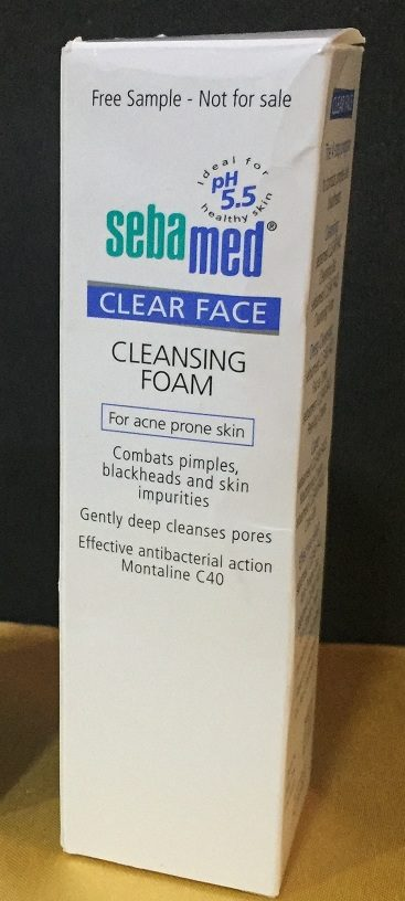 sebamed clear face cleansing foam how to use